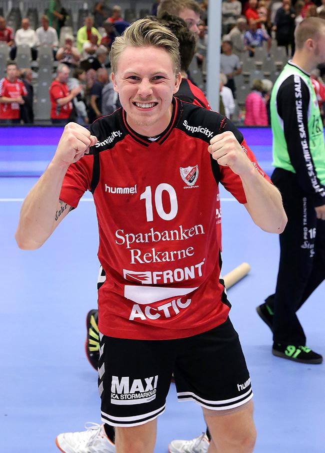 Fredrik Gustavsson po�ngr�ddare i sista sekunden