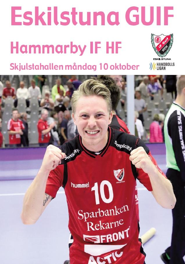 Matchprogram Hammarby omslag